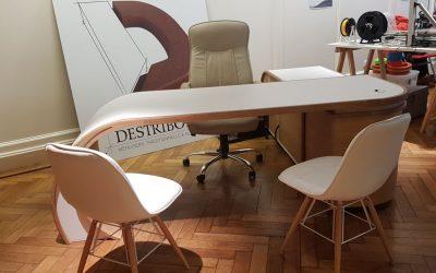 Création d'un bureau design sur mesure