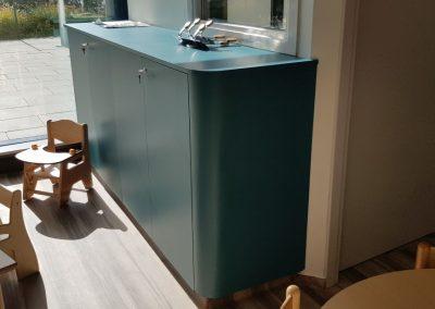 meuble bas de crèche (arrondi)