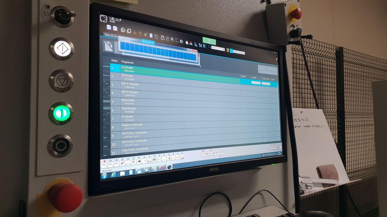 programme machine commande numérique