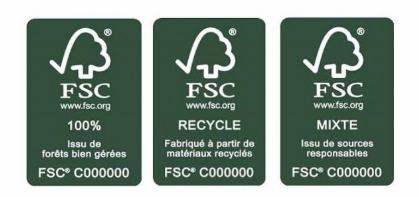 Menuiserie Label FSC