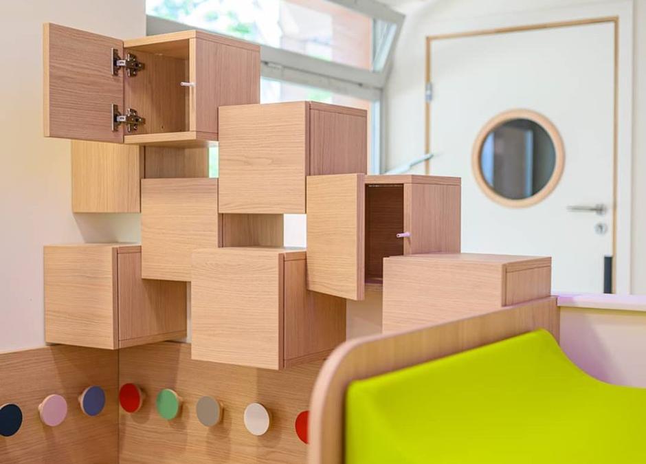 Le mobilier indispensable pour une crèche