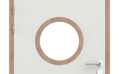 Fabrication de bloc porte anti pince-doigts avec huisseries