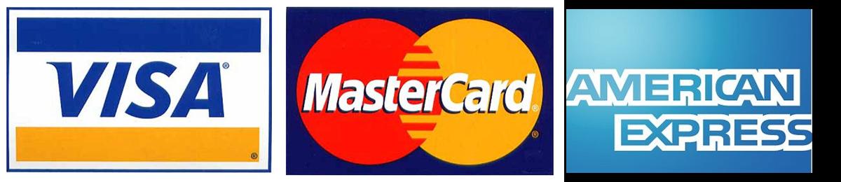 payement visa amex mastercard